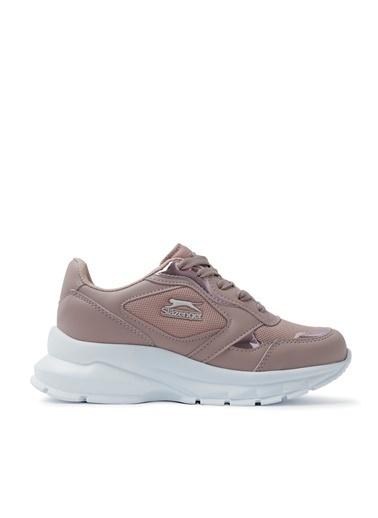 Slazenger Slazenger KANSAS Sneaker Kadın Ayakkabı Pudra Pudra